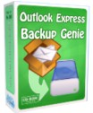 Outlook Express Backup Genie Cover Box